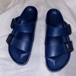 Birkenstocks Eva sandals Navy blue sz 38